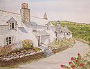 Pat Haselton Whitewashed Cottages in Cornwall UK