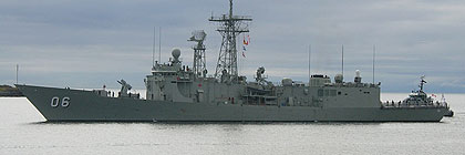 Royal Australian Navy - HMAS NEWCASTLE - 06