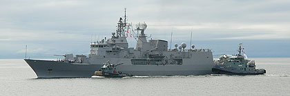 Royal New Zealand Navy - HMNZS TE KAHA - F77