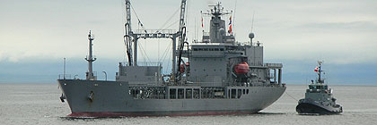 Royal New Zealand Navy - HMNZS ENDEAVOUR - A11