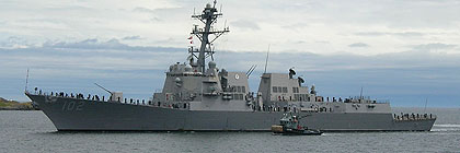 United States Navy - USS SAMPSON DDG 102