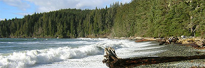 China Beach Vancouver Island BC Canada