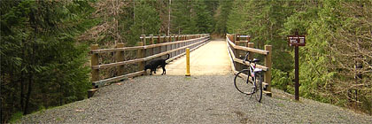Holt Creek Trailhead Cowichan River Provincial Park
