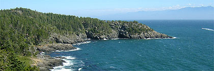 Cabin Point, East Sooke Park, Sooke, BC