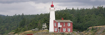 Fort Rodd Hill Fisgard Lighthouse BC Canada