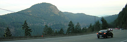 Mount Finlayson from Malahat Drive BC
