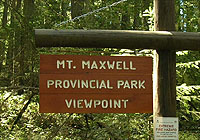Mount Maxwell Provincial Park